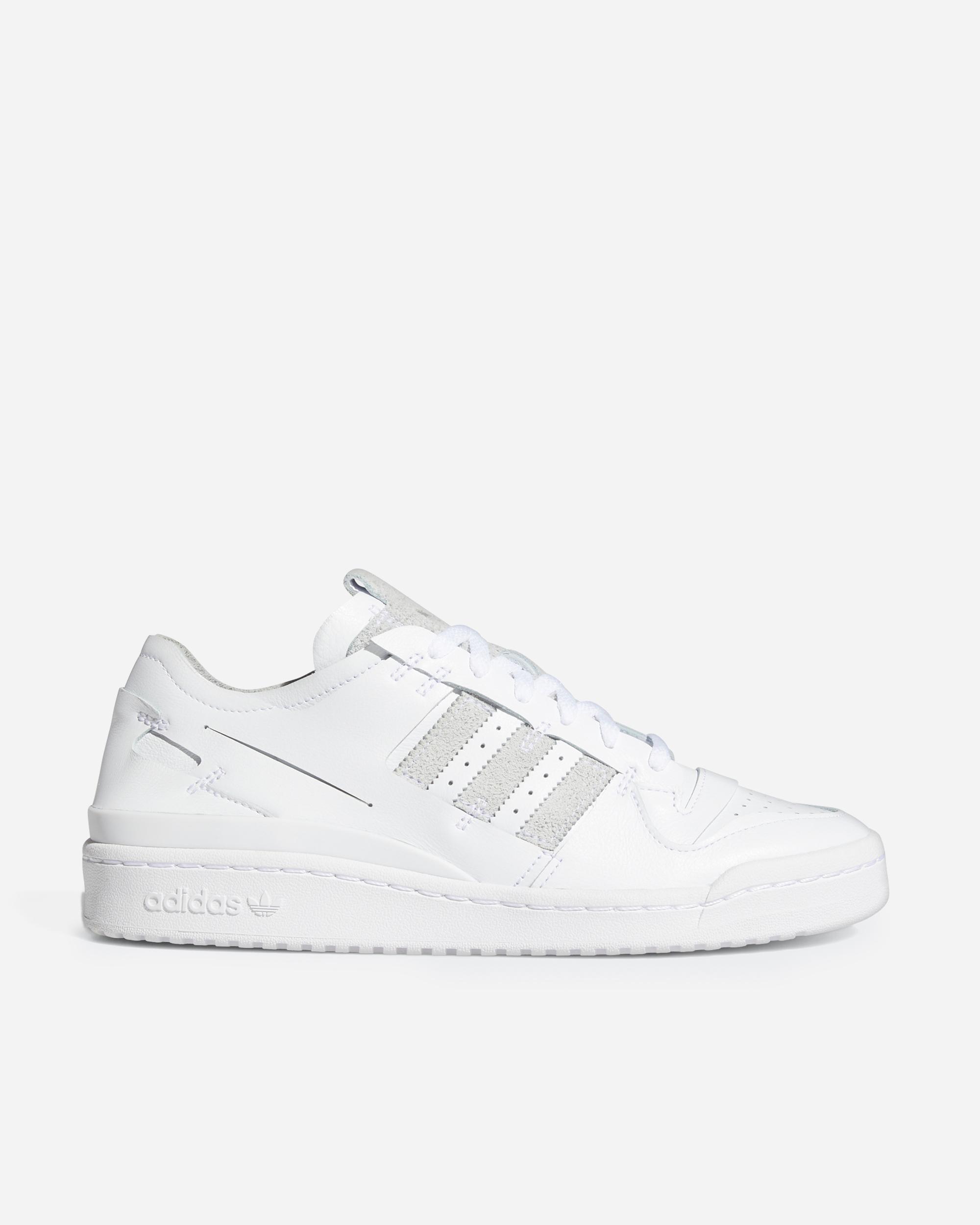 Adidas Originals Forum 84 Low Minimalist Icons Footwear White   FY7997