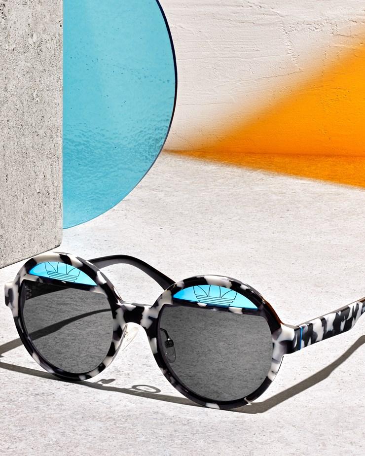 053aff7660ec Adidas Originals Italia Independent x Adidas Consortium Sunglasses  Black Sky Led