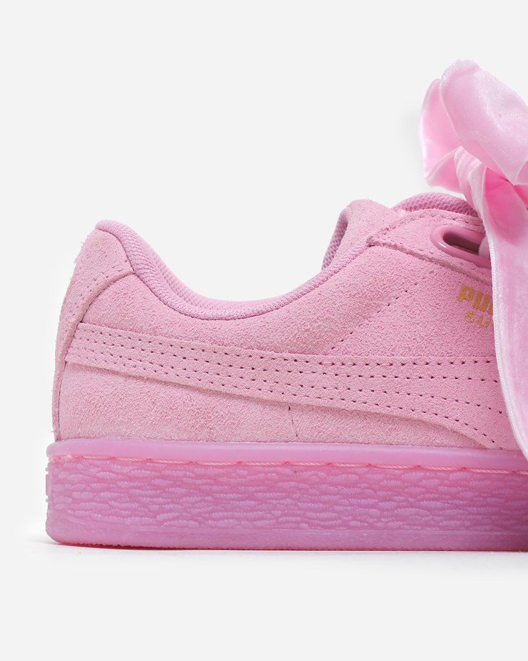 official photos a18d2 d49d6 Puma Suede Heart Reset 363229 002 | Prism Pink | Footwear ...
