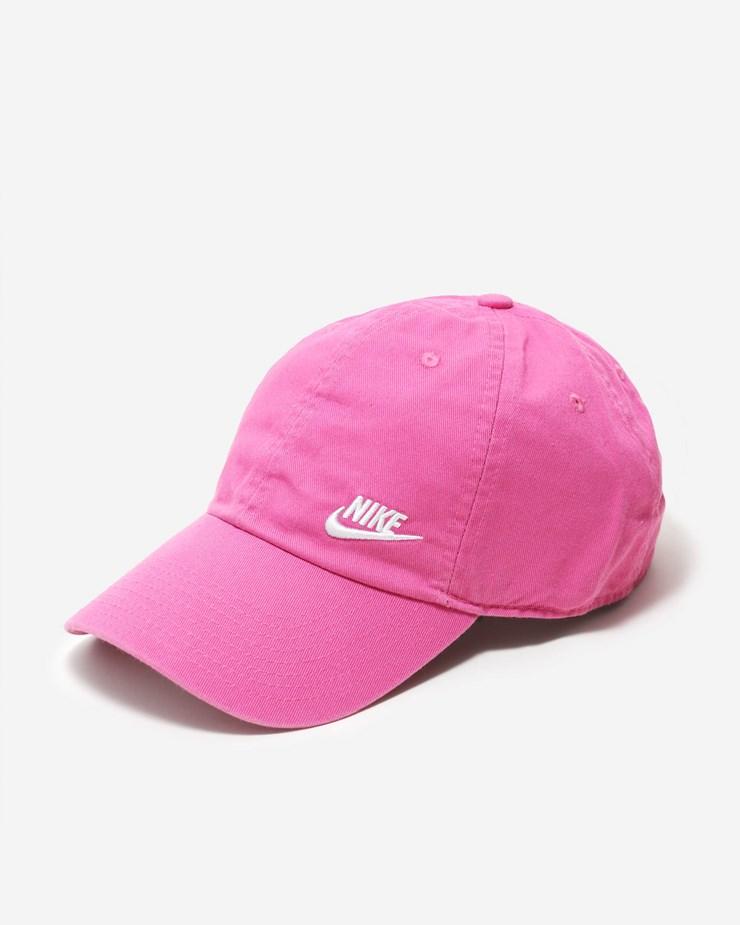 f0a4869143e64 Nike Sportswear H86 Cap Futura Classic Pinkfire II White
