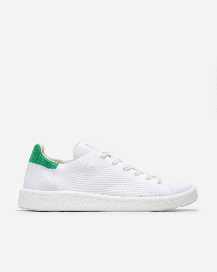 0052cc02b71cd9 Adidas Originals Stan Smith Boost Primeknit White Green