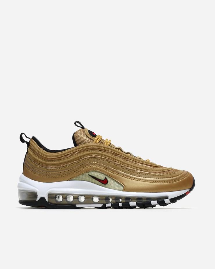 Nike Sportswear Air Max 97 OG QS Metallic Gold Varsity Red 373286500000