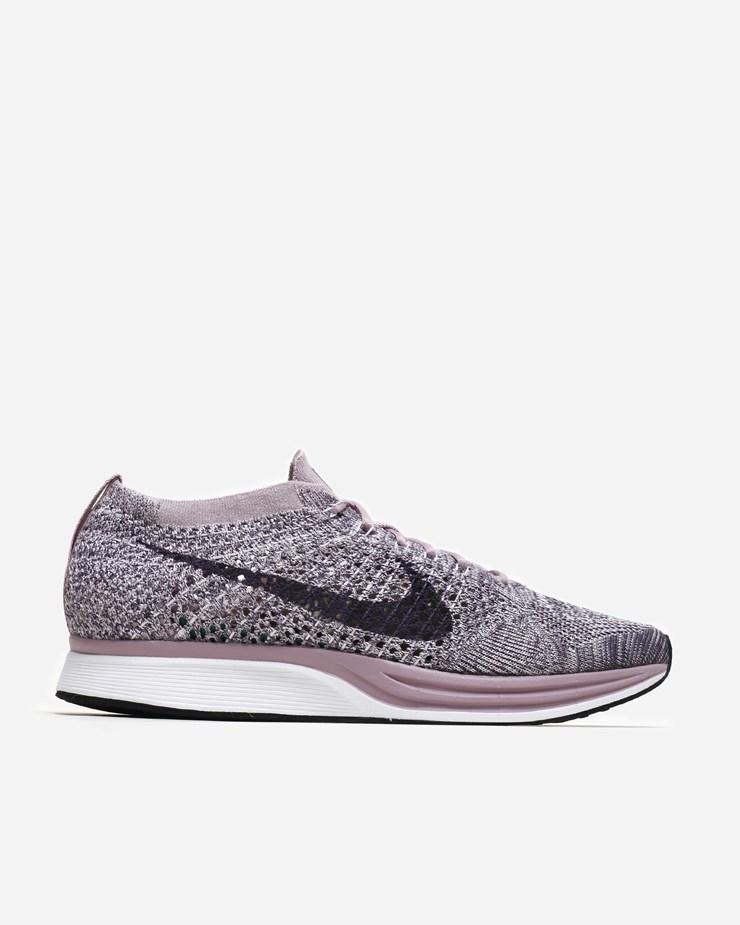 02d028b6cec80 Nike Sportswear Flyknit Racer Light Violet Dark Raisin
