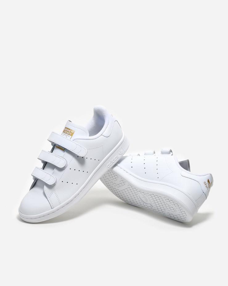 Stan Smith Cf Ftwr White/Ftwr White/Gold Met   Footway