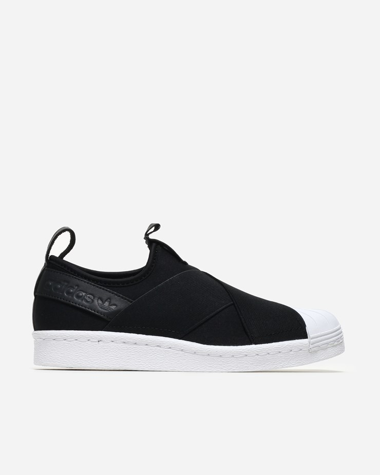 official photos 0db35 c6d98 Adidas Originals Superstar Slip On Core Black
