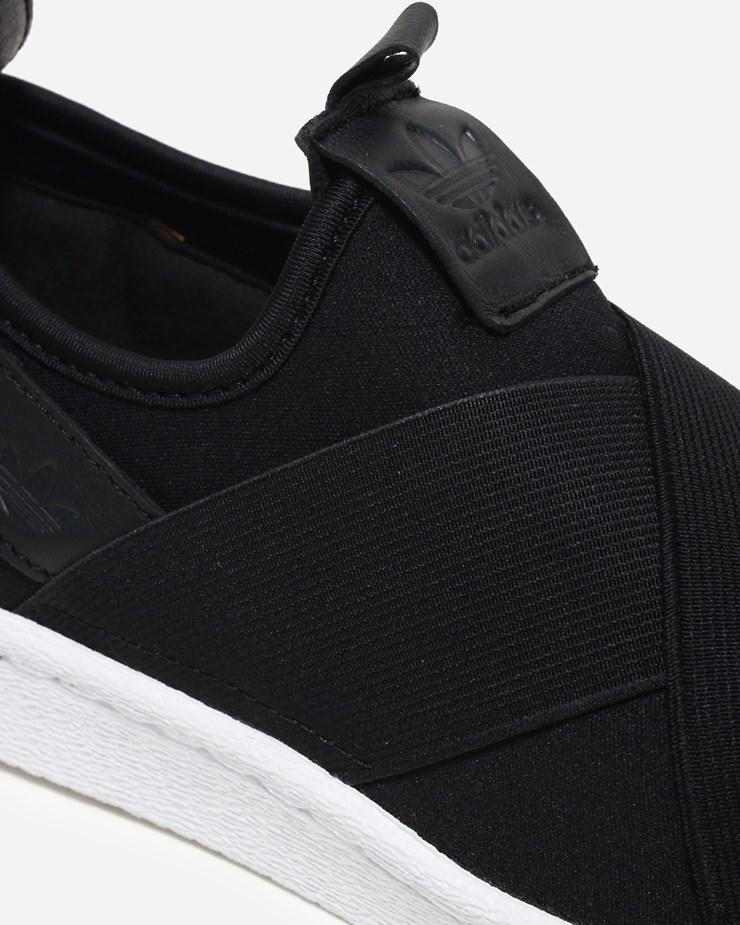 on sale 0f417 5f106 Adidas Originals Superstar Slip On BZ0112  Core Black  Footw
