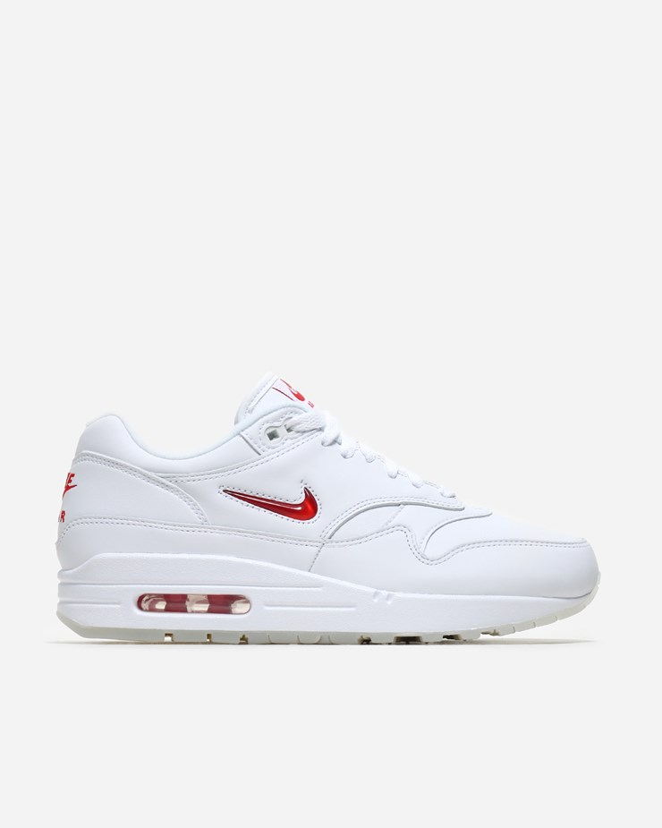 buy popular 997e2 d54e3 Nike Sportswear Air Max 1 Premium Jewel SC White University Red