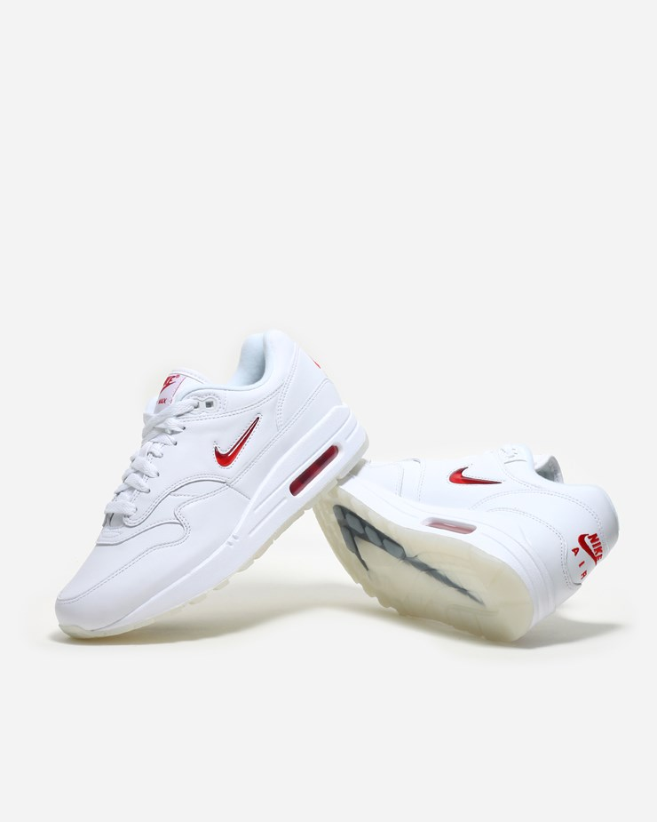 c57176d2aa Nike Sportswear Air Max 1 Premium Jewel SC 918354 104 | White ...