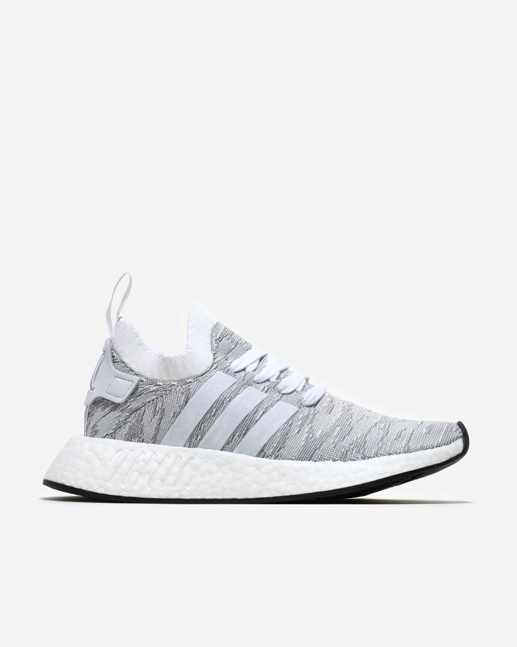 Adidas Originals NMD R2 Primeknit WhiteCore Black BY9410  BY9410