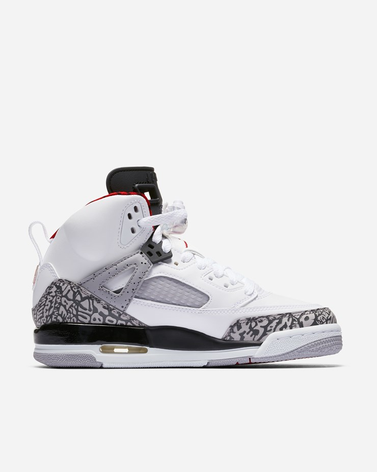 online store e796d 4d30b Jordan Brand Jordan Spizike (GS) White Grey Red