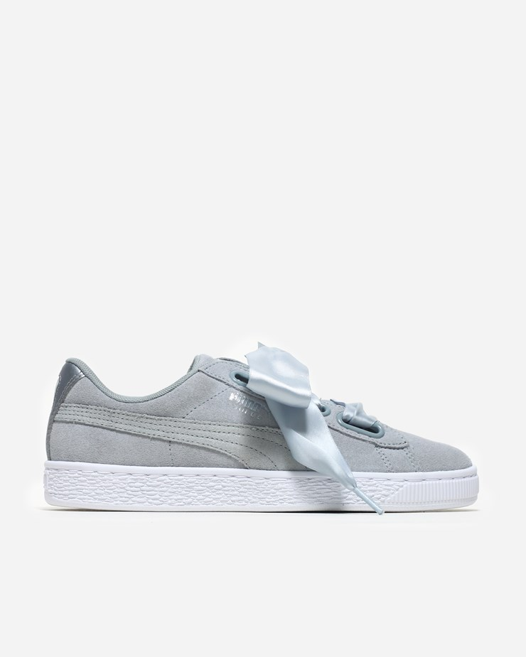2f7118591 Puma Suede Heart Safari 364083 002 | Quarry | Footwear - Naked