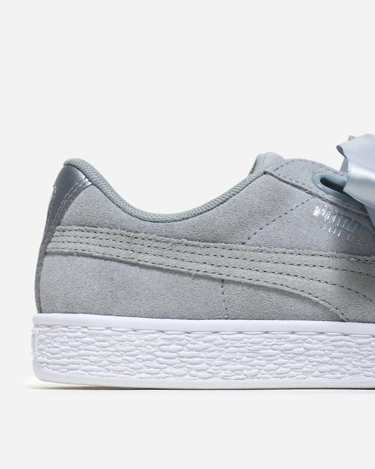 best sneakers 7a493 ec996 Puma Suede Heart Safari 364083 002 | Quarry | Footwear - Naked