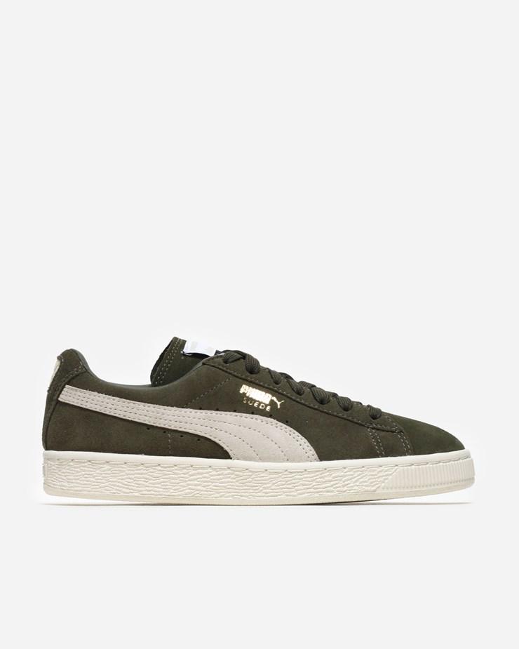 new style 2866b a1558 Puma Suede Classic 363242 027 | Olive Night/Birch | Footwear ...