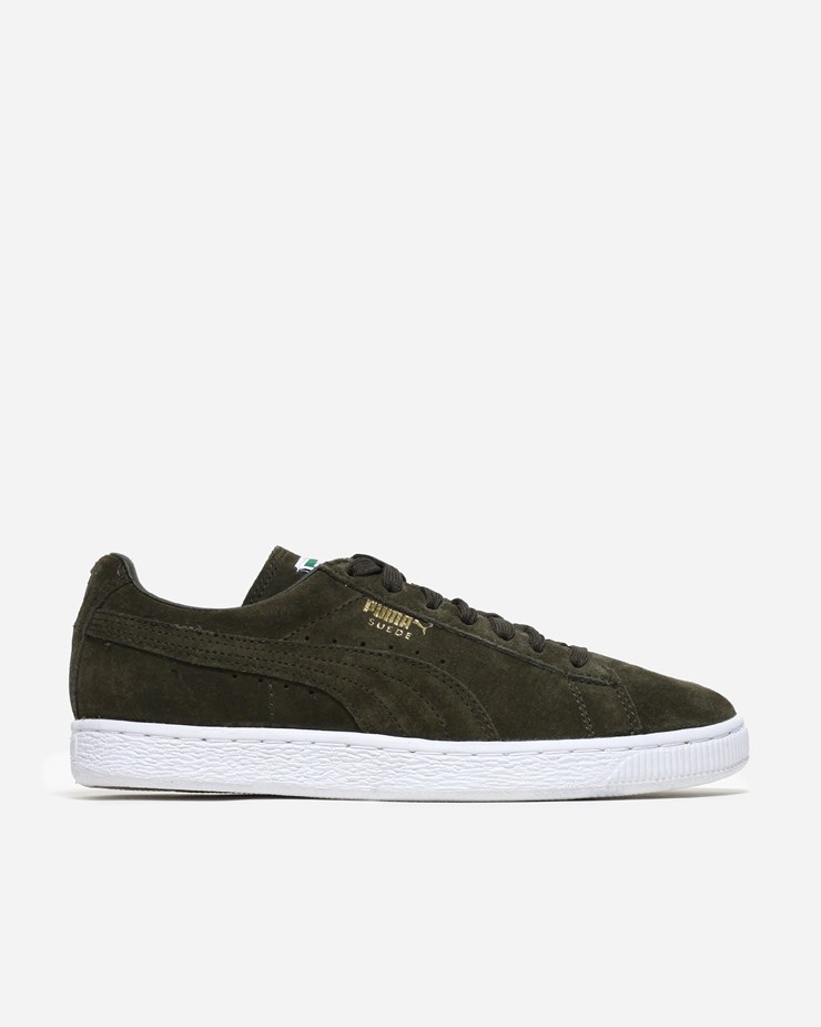 Puma Suede Classic Forest NightWhite | 356568 065 – Naked