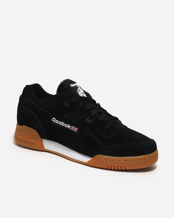 big sale cc932 3910e Reebok Workout Plus EG Black White Gum