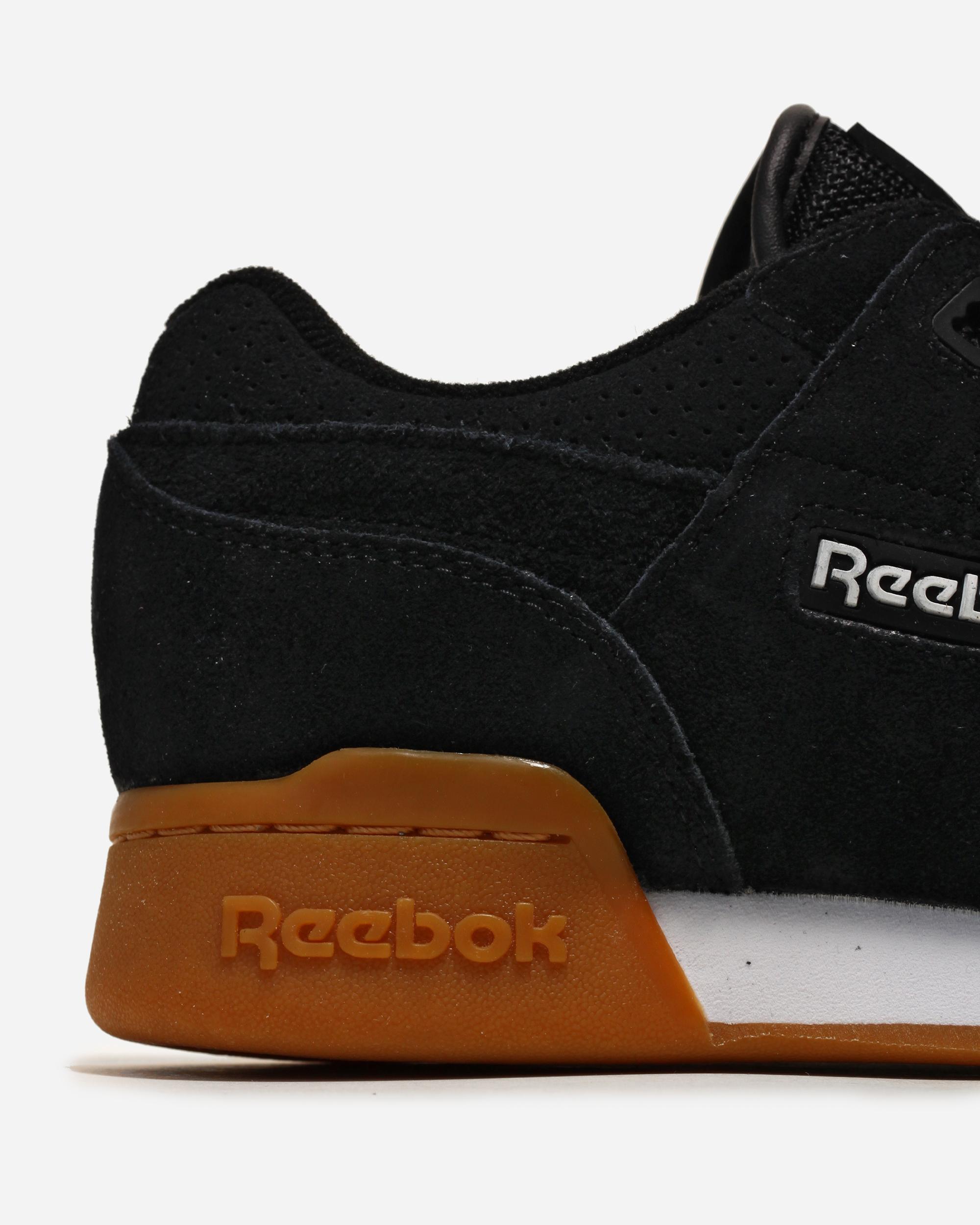 Amazon.com   Reebok Workout Plus Eg (Black/White/Gum